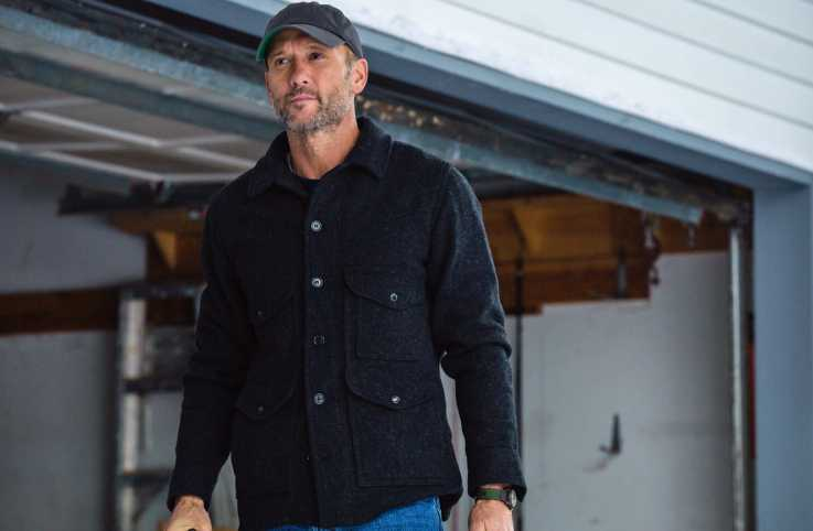 Actor and country music star Tim McGraw