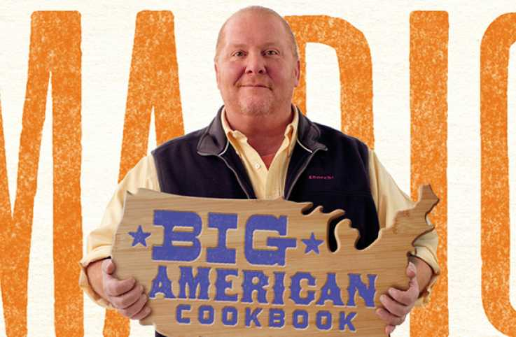 Celebrity chef and cookbook author Mario Batali