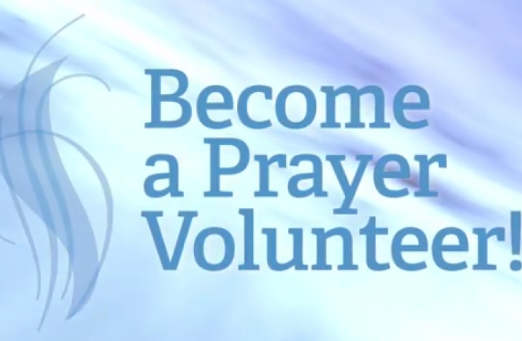 Become an OurPrayer Prayer Volunteer