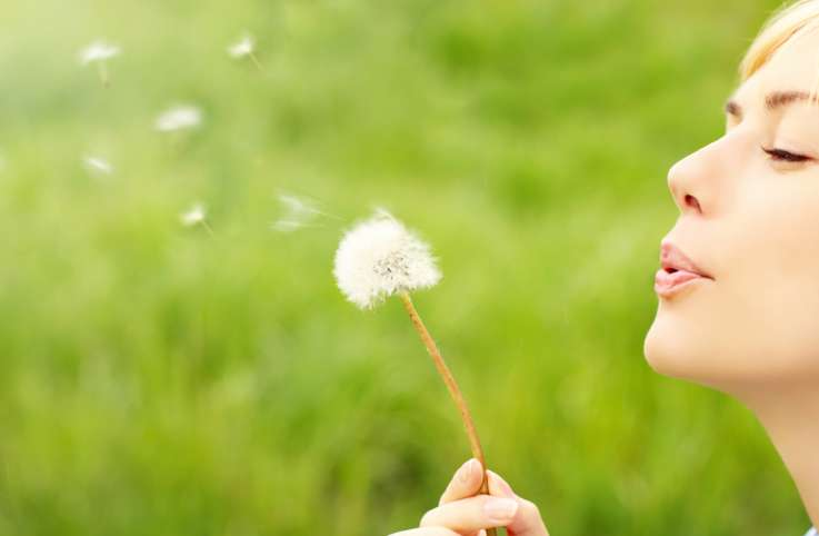 How to feel gratitude when you have allergies