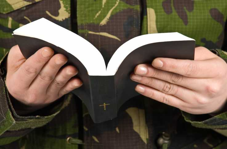 A military chaplain finds hope