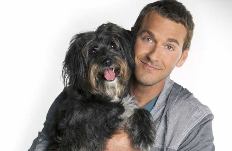 Dog trainer and host of CBS's 'Lucky Dog' Brandon McMillan