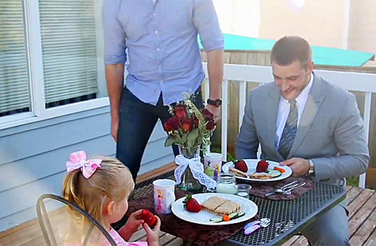 A father gives his daughter an unforgettable date.
