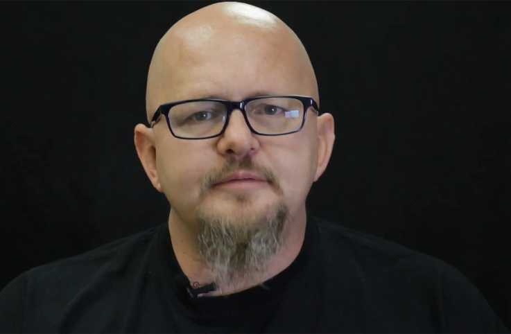 Recovering addict and outreach counselor David Stoecker