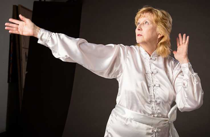 Tai Chi instructor Mikki Davis