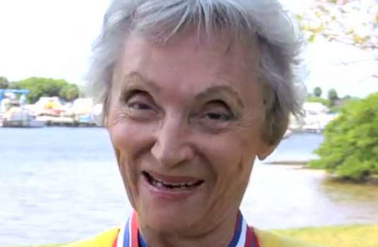 Doris Barrilleaux, a female bodybuilder, leads an active life at 80 years old.