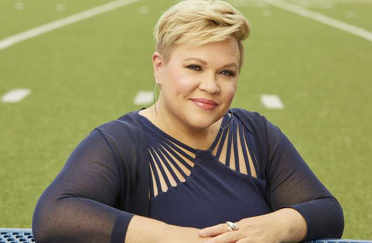 ESPN sports reporter Holly Rowe