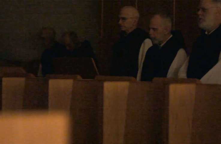 The monks of the Abbey of Gethsemani offer their Winter Compline