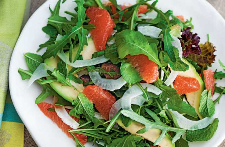 Guideposts: Avocado Citrus Salad