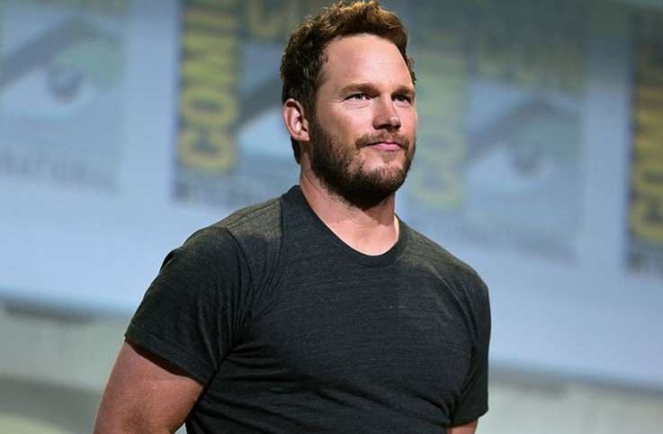 Chris Pratt at Comic Con