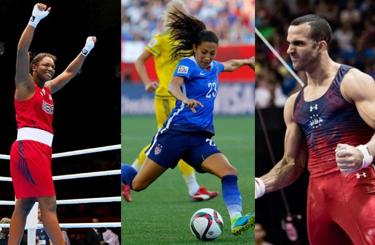 Inspiring US Athletes Headed To Rio