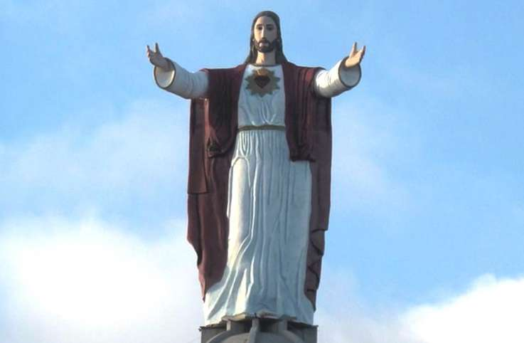 Christ of the Sacred Heart, El Morro, Mexico