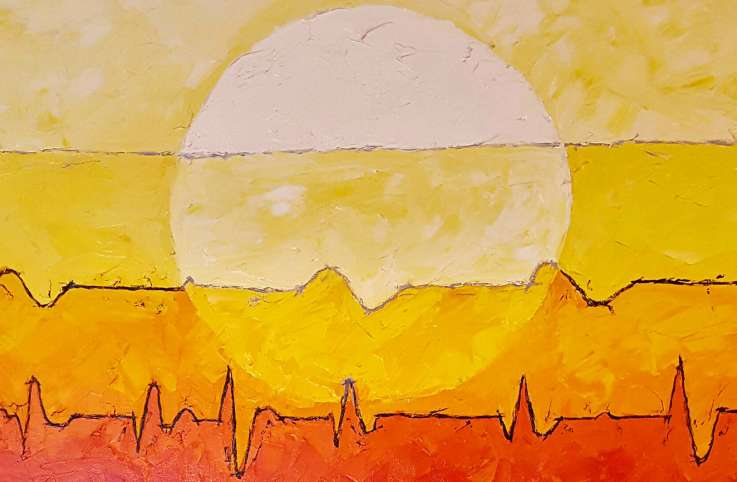 Coming Full Circle, the painting that changed Linda's view of death