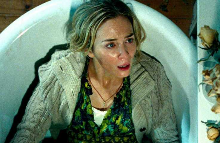 "Emily Blunt in ""A Quiet Place"""