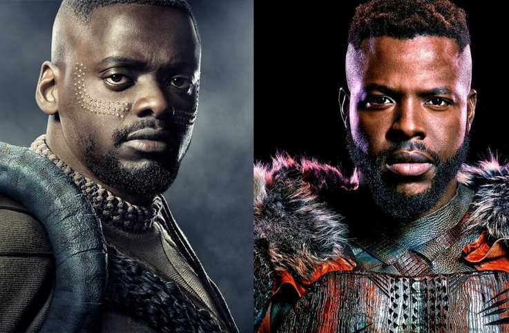Black Panther stars Daniel Kaluuya and Winston Duke / Marvel