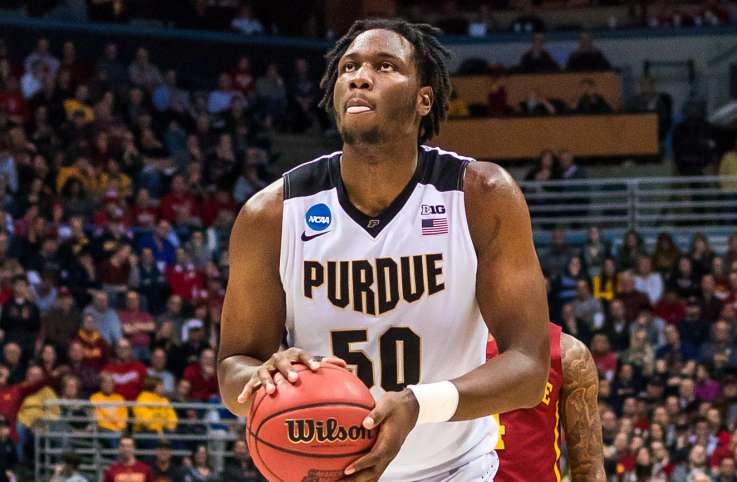 "Purdue University power forward Caleb ""Biggie"" Swanigan"