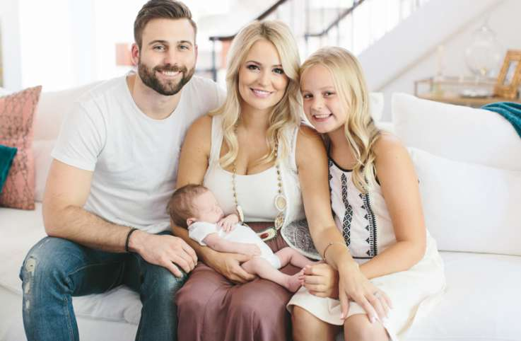Emily Maynard and family