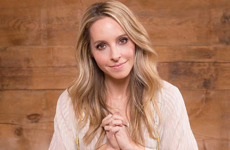 Motivational speaker, life coach, and author Gabrielle Bernstein