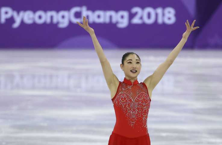 Mirai Nagasu at the 2018 Winter Olympics