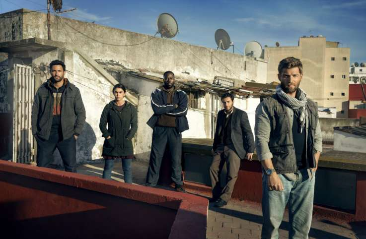 "The cast of NBCs ""The Brave"""