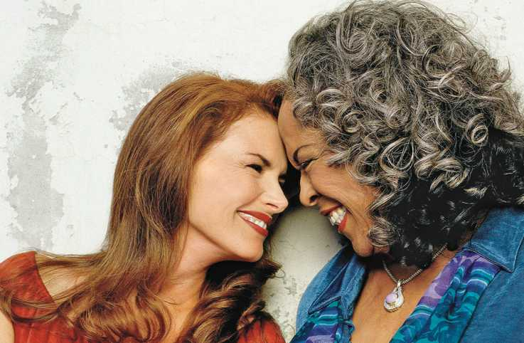 Touched by an Angel stars Roma Downey and Della Reese