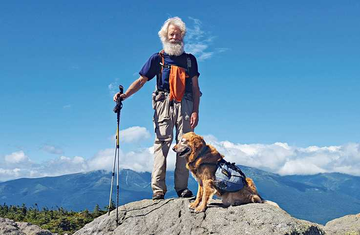 At 75, Soren was one of the oldest people to have thru-hiked the Appalachian Trail