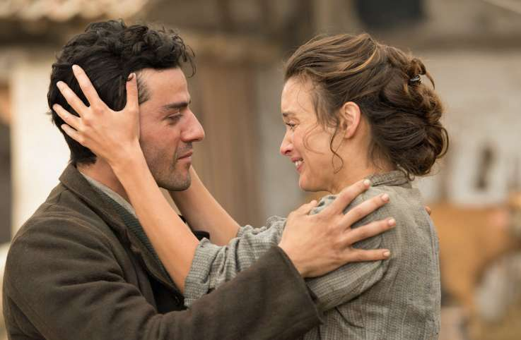 The Promise stars Oscar Isaac and Charlotte Le Bon