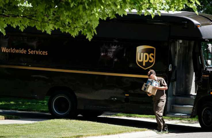 UPS Delivery Driver
