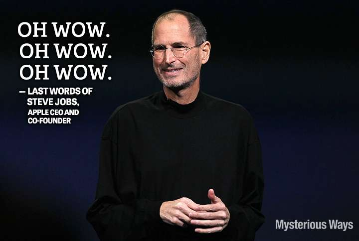 steve jobs last words pdf