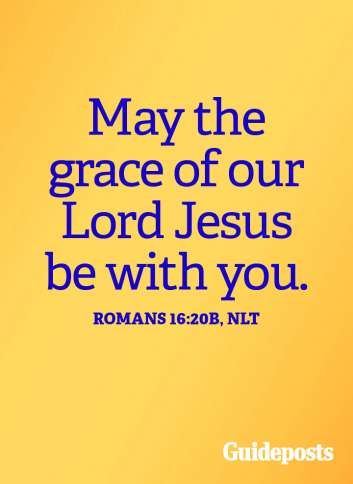May the grace of our Lord Jesus be with you.