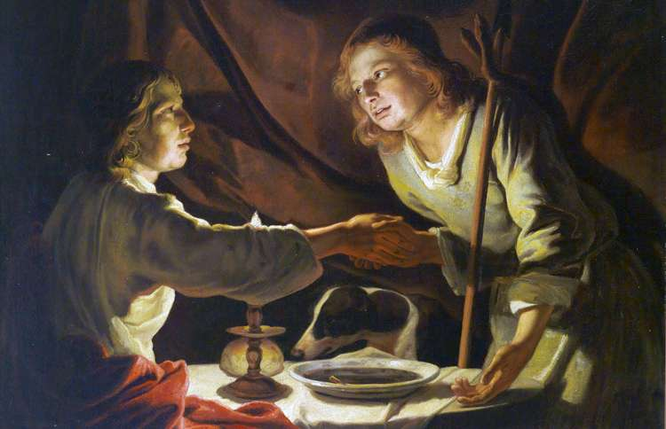 Jacob and Esau, the Bible's most famous twins