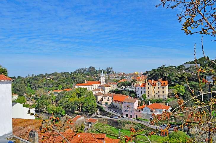 The picturesque town of Sintra was the summer residence of Portuguese kings for centuries.