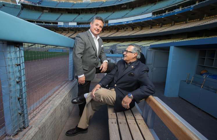 After a stint doing Dodger home games on TV, Jorge will join his father in the radio booth