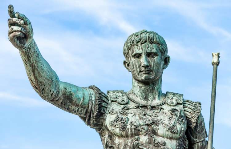 Augustus Caesar statue in Rome, The Christmas Story, Guideposts