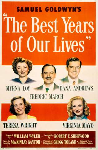 A 1946 poster for the movie The Best Years of Our Lives