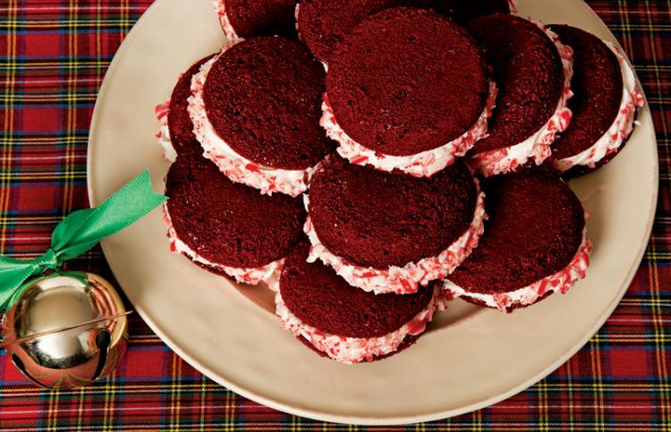 Guideposts: A plate of red velvet whoopie pies