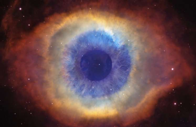The Helix Nebula or Eye of God