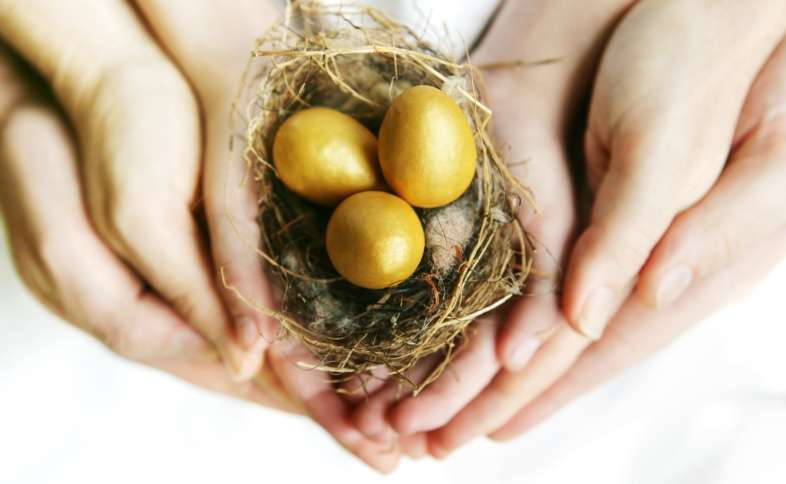 Prayer to Build Your Nest Egg