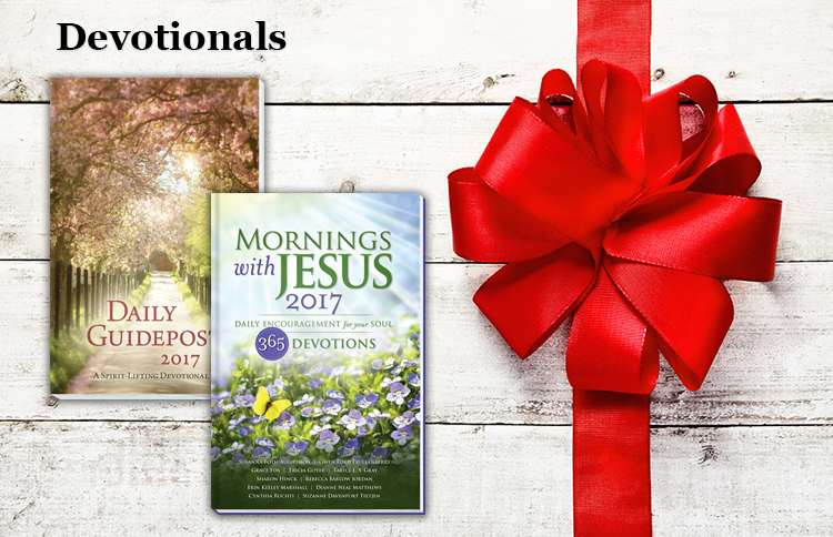 Daily Guideposts 2017, Mornings with Jesus 2017