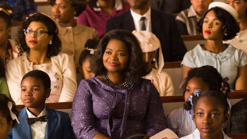"Taraji P. Henson, Octavia Spencer and Janelle Monae in ""Hidden Figures"""