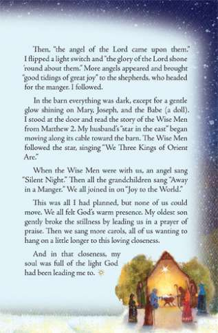 Guideposts: A brief story called Homemade Holy Night, continued