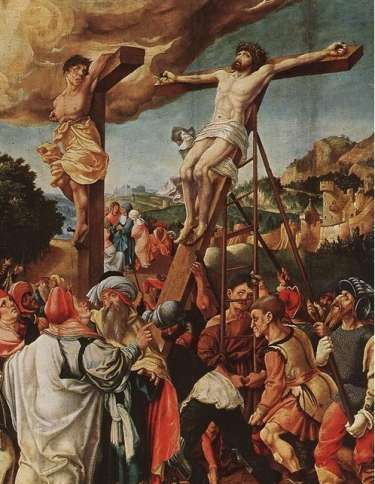 Jorg Breu the Elder Crucifixion