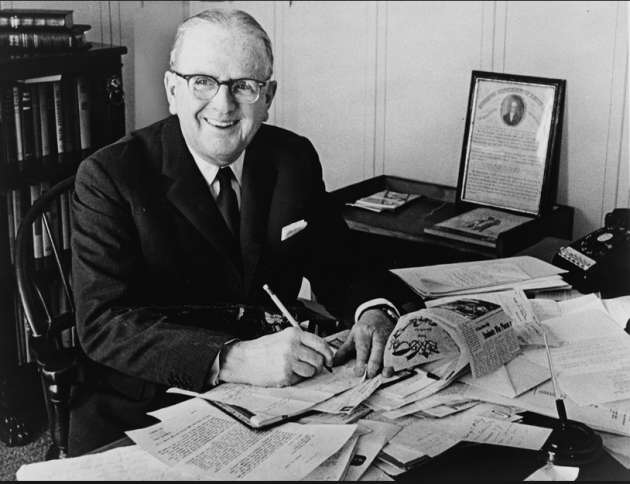 Dr. Norman Vincent Peale found of Guideposts