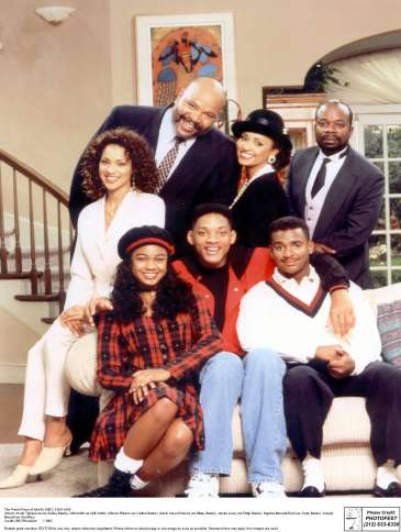 James Avery (top left) as Philip Banks on Fresh Prince of Bel-Air