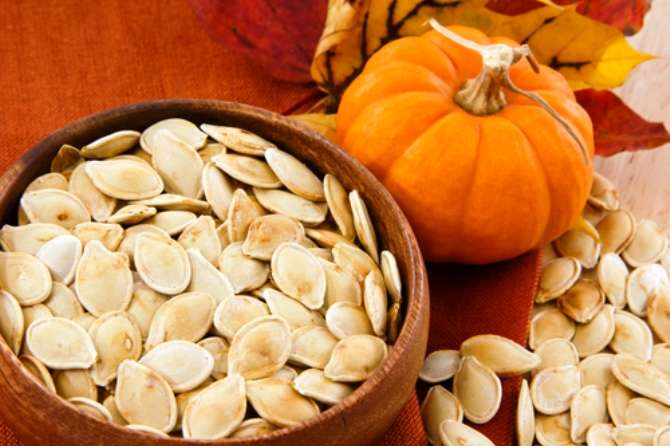 How innumerable the seeds in a pumpkin, as wondrous as Your thoughts.