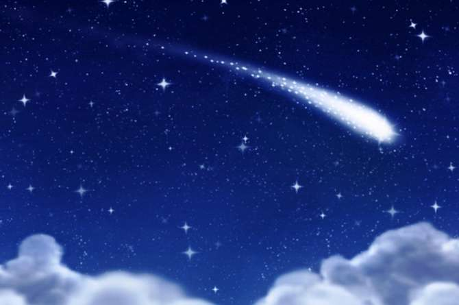 For your mercies extend farther than any shooting star that drops from the sky.