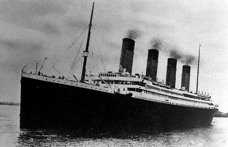 Guideposts: A photograph of the RMS Titanic