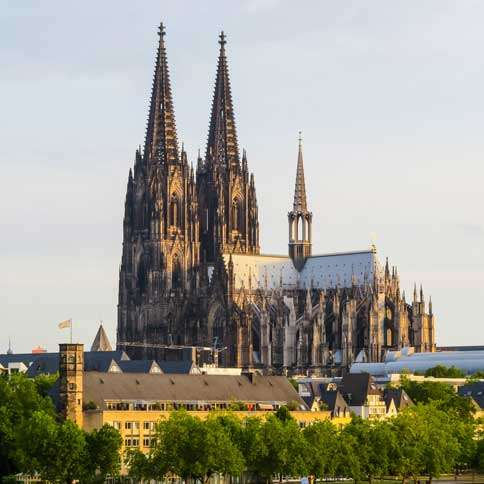 Guideposts: The exterior of the Cologne Cathedral