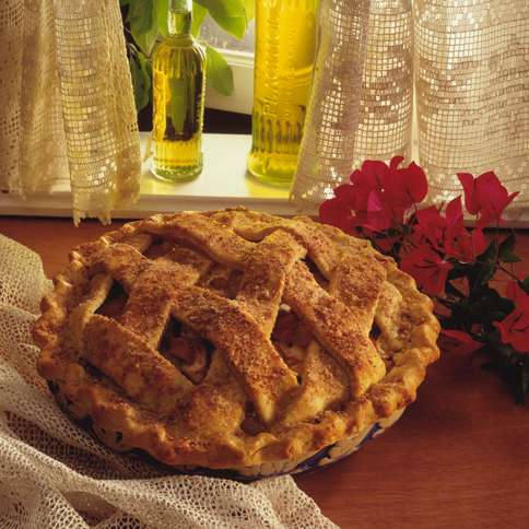 Guideposts: A freshly baked pie sits on a window sill