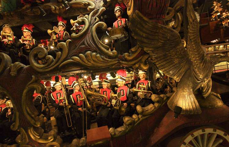 Guideposts: A mechanical circus band at the House on the Rock in Spring Green, Wisconsin